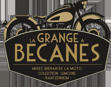 Logo  | Motorradmuseum in Bantzenheim | La Grange à Bécanes (Bantzenheim, Alsace)